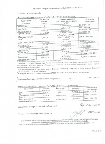 Протокол №10723 2 страница